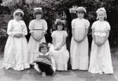 Burnsfield Infant school Rose queen 1984.