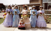 Burnsfield Infant School Rose Queen 1985