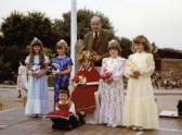 Burnsfield Infant school Rose queen 1981