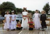 Burnsfield Infant school Rose queen 1982