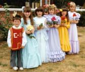 Barnsfield Infant school Rose Queen 1986