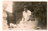 Westmoor House - doing the washing