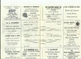 Chatteris Town Football Club Programme 1969