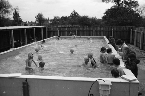 Swimming Pool at the King Edward School,Burnsfield, Chatteris