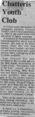 Press Clippings about the Chatteris Youth Club