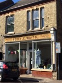 Percy Waits Shop Sign
