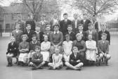 Old King Edward school class photos 1957