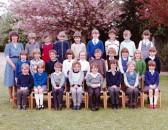 Burnsfield 1983 class photo 1