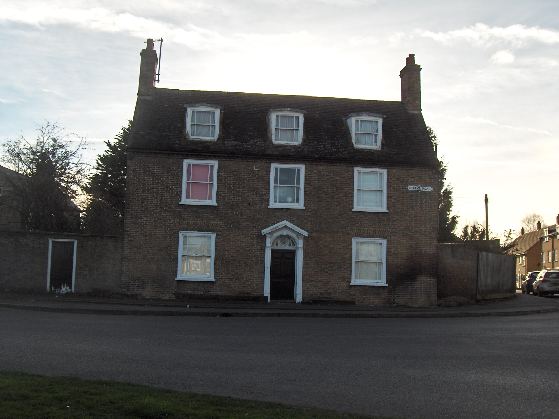 Gresham House Station Rd Chatteris Buildings Domestic