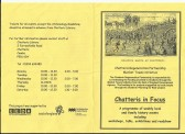Pamphlet about various local History events held in the town in 2003