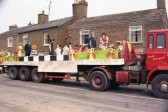 zebra Crossing Chatteris Carnival Float.
