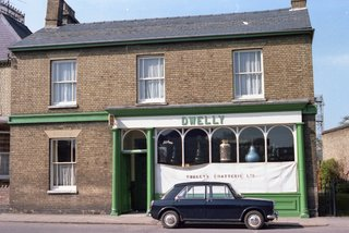 Dwelly the Chemist Shop. Park Street. Chatteris