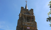 Church Clock Face Regilding