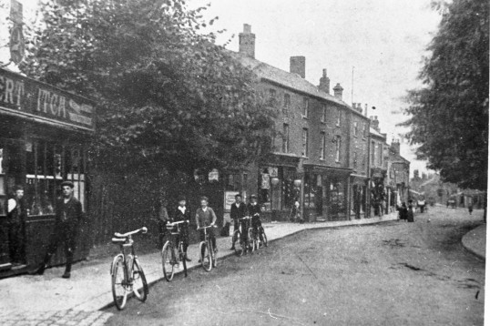 Early photograph of the Herbert Fitch Shop High Street