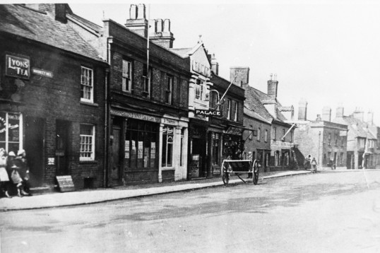 Old Photo of the Palace Market Hill Chatteris