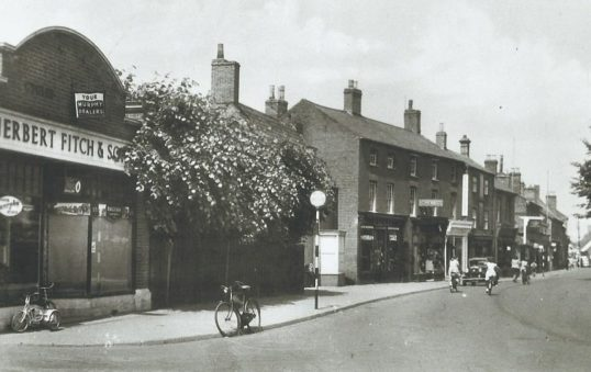 Herbert Fitch and Sons. High Street. Chatteris