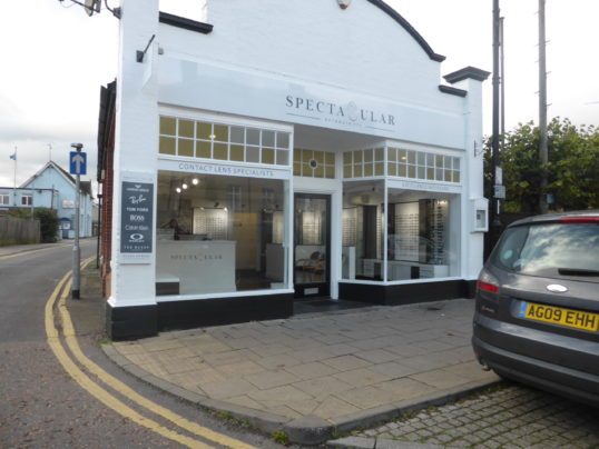 Spectacular Optician shop in High Street Chatteris