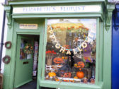 Halloween display in Chatteris shops