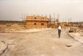 Impala Drive flats under construction 1986 looking from Eland Way. Courtesy of Jonathan Phillips.