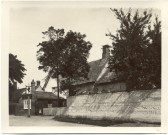 The Red Lion Pub, Mill End Rd. Courtesy of The Cambridgeshire Collection.. Clunch