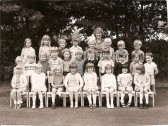 Cherry Hinton Infants School Class of 1971.Courtesy of Gill Rapley