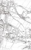 Map of Cherry Hinton 1950