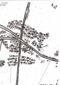 A map of Prehistoric Cherry Hinton by Michelle Bullivant