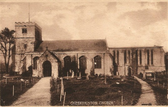 St Andrews Church postcard (Donated by Tony Middleton)