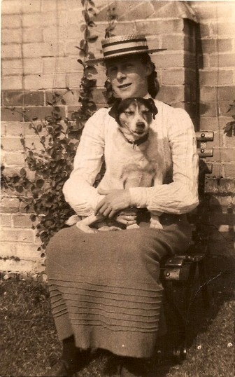Lady with dog (Donated by Tony Middleton)