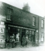 C.H. Smith, Grocery and Drapery Stores, High Street (opposiite Mill End Road junction), Cherry Hinton.  Copyright untraced