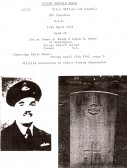 Pilot Officer Joseph Dougald Ready - Details with Picture of Official Gravestone in Cherry Hinton Churchyard. (Donated by N Cullup)