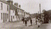 Cherry Hinton High Street looking south towards The Chequers pub on the left (Donated by N Cullup)