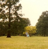 Lynsey & Kerry Bullivant in the grounds of Cherry Hinton Hall (Donated by Elizabeth Toller-Brown)