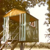 Michelle Bullivant on play park at Cherry Hinton Hall (Donated by Elizabeth Toller-Brown)