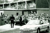 The official opening of The Village Centre  by  H.R.H. Diana Princess of Wales   1/08/1989Courtesy of Cambridge Evening News (cambridge-news.co.uk)