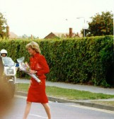 Grand opening Village Centre   Cherry Hinton by H.R.H  Diana Princess of Wales (photographed by Geoff Kitchin)