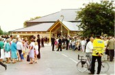 Grand Opening Village Centre   Cherry Hinton   - H.R.H  Diana  Princess of Wales (photographed by Geoff Kitchin)