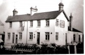 The Chequers Public House, Cherry Hinton High Street.  Donated by V. P. Noble