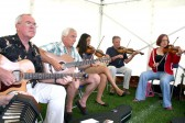 Members of the Cherry Hinton Folk Music Club . Cherry Hinton Folk Music Club