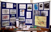 Cherry Hinton Local History Society - Display boards at the Cherry Hinton Festival held on the Recreation Ground.. Cherry Hinton Local History Society Boards at Cherry Hinton Festival
