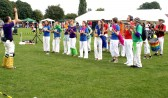The Samba Band in full swing (Photo: Norman Daniels)