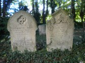West family graves in St Andrew's Churchyard, Cherry Hinton. (Photo by Sean Lang)