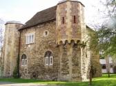 Chesterton towers, circa 13th-14th century