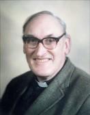 Chesterton. The Revd John Carre, Vicar of St Andrew's from 1974 - 1987