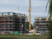 New flats being built on Simoco site, Chesterton