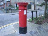 Victorian post box in Riverside, Chesterton