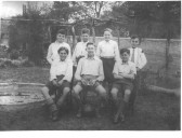 Cottenham school Cromwell house football team