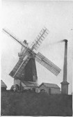 Windmill in Histon Road Cottenham . Last of the windmills to be built in the village (Builder told not enough wind  in the village to power 4 mills)