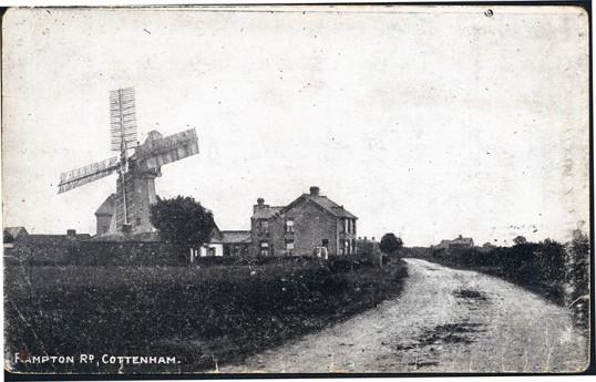 Windmill in Rampton Road Cottenham
