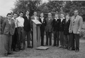 Cottenham School Woodwork Class 1958 (photo courtesy Boyd Rose)
